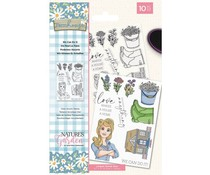 Crafter's Companion Farmhouse We Can Do It Clear Stamps (NG-FH-CA-WCDI)