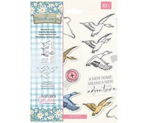 Crafter's Companion Farmhouse Flying By To Say Hi Stamp & Die (NG-FH-STD-FBSH)