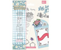 Crafter's Companion Farmhouse Let Love Grow Stamp & Die (NG-FH-STD-LLGR)
