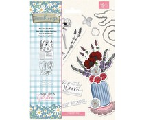 Crafter's Companion Farmhouse May Your Day Bloom Stamp & Die (NG-FH-STD-MYDB)