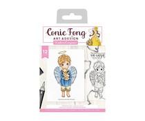 Crafter's Companion Angel Inspiration Friendship Angel Stamp & Die (CF-STD-FRAN)