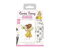 Crafter's Companion Angel Inspiration Angel Whispers Stamp & Die (CF-STD-ANWS)