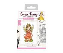 Crafter's Companion Angel Inspiration Angel Prayers Stamp & Die (CF-STD-ANPR)
