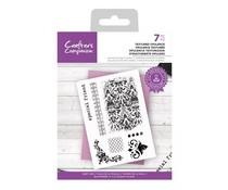 Crafter's Companion Textured Opulence Clear Stamps (CC-STP-TEOP)