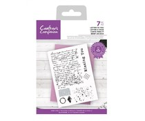 Crafter's Companion Letter to You Clear Stamps (CC-STP-LTOY)