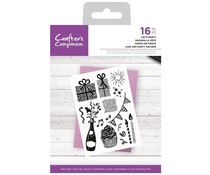 Crafter's Companion Let's Party Clear Stamps (CC-STP-LETPA)