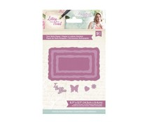 Crafter's Companion Letters from The Heart Torn Note Paper Dies (S-LFTH-MD-TORN)
