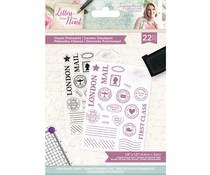 Crafter's Companion Letters from The Heart Classic Postmarks Clear Stamps (S-LFTH-ST-CLPO)