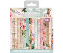 Crafter's Companion Letters From The Heart 6x6 Inch Paper Pad (S-LFTH-PAD6)