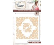 Crafter's Companion Vintage Diary Wooden Frame and Corner (S-VD-WOODFRAME)