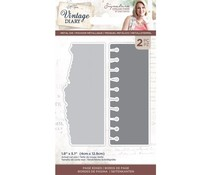Crafter's Companion Vintage Diary Page Edges Dies (S-VD-MD-PAED)