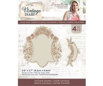 Crafter's Companion Vintage Diary Antique Frame Stamp & Die (S-VD-STD-ANTFR)