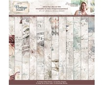 Crafter's Companion Vintage Diary 12x12 Inch Vellum Pad (S-VD-VELPAD12)