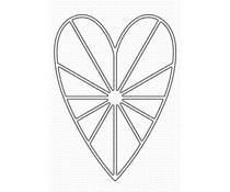 My Favorite Things Heart Burst Die-namics (MFT-1990)