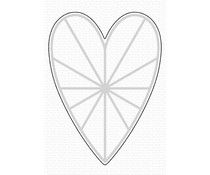 My Favorite Things Heart Burst Hellos Die-namics (MFT-1995)