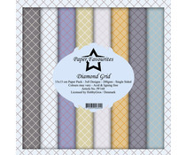 Paper Favourites Diamond Grid 6x6 Inch Paper Pack (PF168)