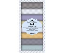 Paper Favourites Diamond Grid Slim Paper Pack (PFS014)