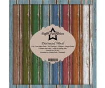 Paper Favourites Distressed Wood 6x6 Inch Paper Pack (PF165)