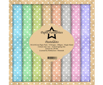 Paper Favourites Pastel Dots 12x12 Inch Paper Pack (PF366)