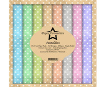 Paper Favourites Pastel Dots 6x6 Inch Paper Pack (PF166)