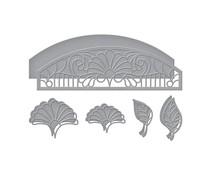 Spellbinders Fan Flower Transom Etched Dies (S4-1103)