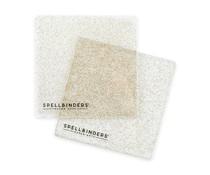 Spellbinders Glitter 6x6 Inch Cutting Platinum Plates (PL-120)
