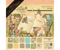 Graphic 45 Once Upon A Springtime 12x12 Inch Deluxe Collector's Edition (4501099)