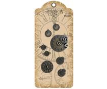Graphic 45 Decorative Metal Clocks (8pcs) (4502218)