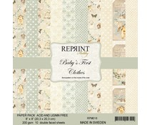 Reprint Baby´s First Clothes Collection 8x8 Inch Paper Pack (RPM018)