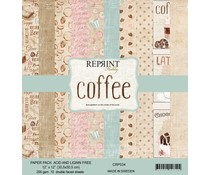 Reprint Coffee Collection 12x12 Inch Paper Pack (CRP034)