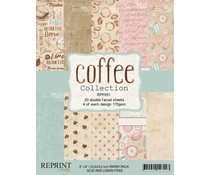 Reprint Coffee Collection 6x6 Inch Paper Pack (RPP051)