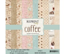 Reprint Coffee Collection 8x8 Inch Paper Pack (RPM016)