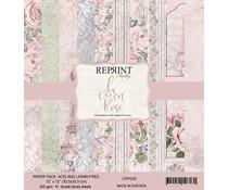 Reprint La vie en Rose Collection 12x12 Inch Paper Pack (CRP035)