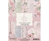 Reprint La vie en Rose Collection 6x6 Inch Paper Pack (RPP052)