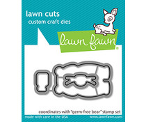 Lawn Fawn Germ-Free Bear Dies (LF2463)