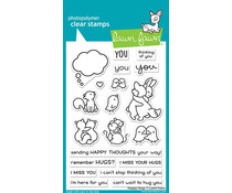 Lawn Fawn Happy Hugs Clear Stamps (LF2556)