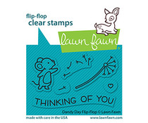 Lawn Fawn Dandy Day Flip-Flop Clear Stamps (LF2562)