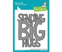 Lawn Fawn Giant Sending Big Hugs Dies (LF2566)