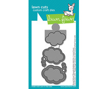 Lawn Fawn Reveal Wheel Thought Bubble Add-On Dies (LF2567)