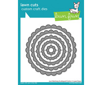 Lawn Fawn Just Stitching Scalloped Circles Dies (LF2571)