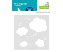 Lawn Fawn Thought Bubbles Stencil (LF2577)