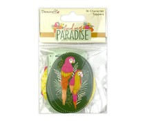Dovecraft Finding Paradise Character Toppers (16pcs) (DCTOP170)