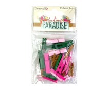 Dovecraft Finding Paradise Mini Pegs (35pcs) (DCWDN104)