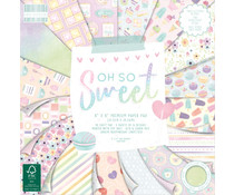 First Edition Oh So Sweet 8x8 Inch Paper Pad (FEPAD228)