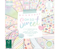 First Edition Oh So Sweet 6x6 Inch Paper Pad (FEPAD229)