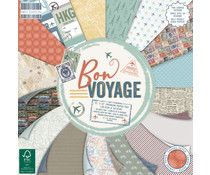 First Edition Bon Voyage 12x12 Inch Paper Pad (FEPAD230)