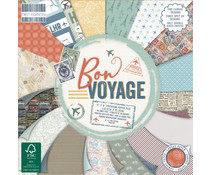 First Edition Bon Voyage 6x6 Inch Paper Pad (FEPAD232)