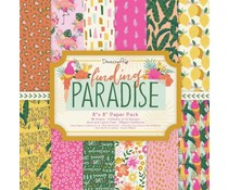 Dovecraft Finding Paradise 8x8 Inch Paper Pack (DCPAP164)