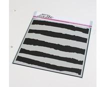 Heffy Doodle Broad Strokes Stencil (HFD0336)