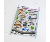 Heffy Doodle Home Sweet Home Clear Stamps (HFD0359)